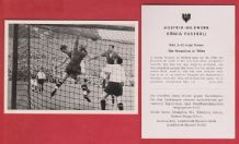 Austria v West Germany 1951 Max Morlock Nuremburg A22